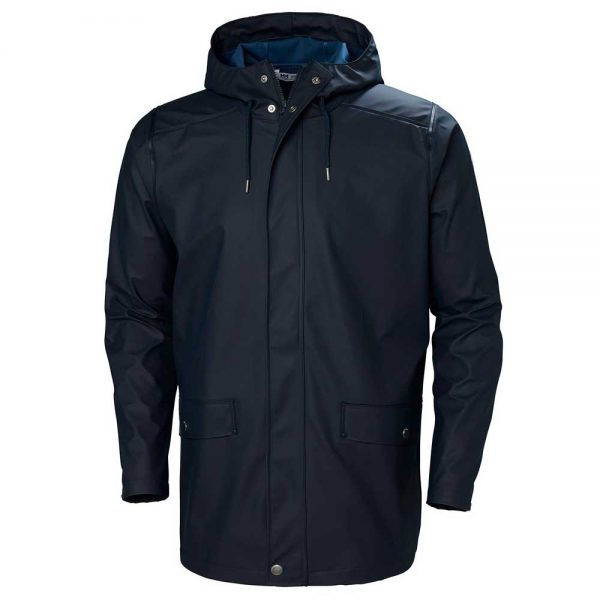 Helly Hansen Mens Rain Coat Navy