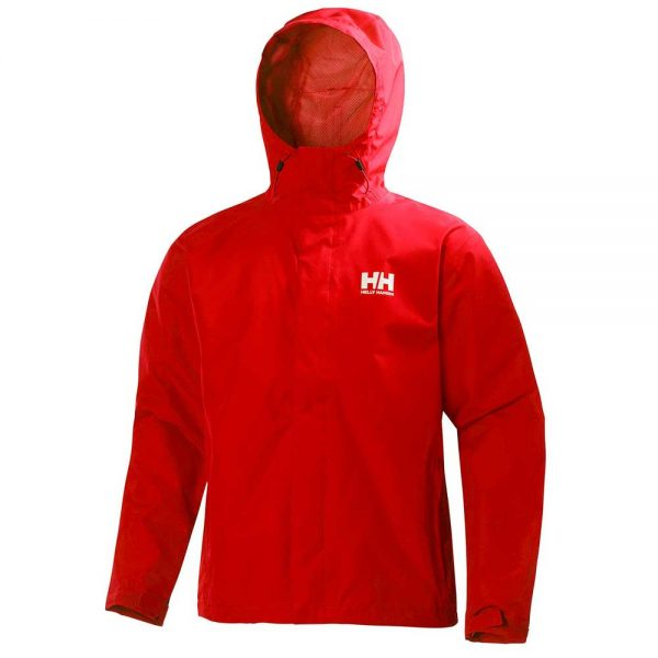 Helly Hansen Mens Seven J Jacket Alert Red