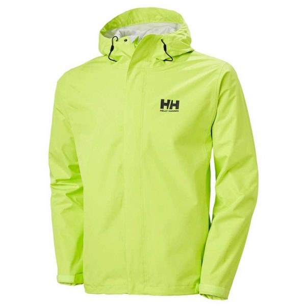 Helly Hansen Mens Seven J Jacket Azid Lime