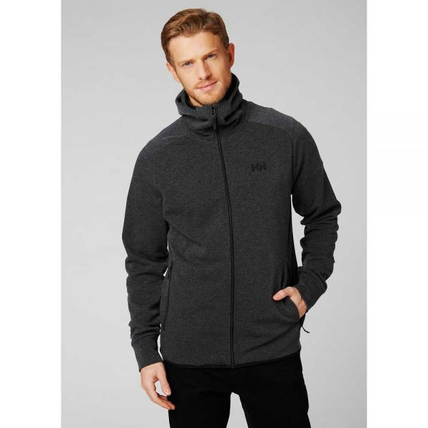 Helly Hansen Mens Sognsvann Midlayer Black