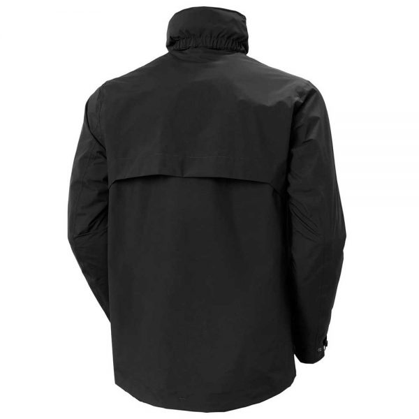 Helly Hansen Mens Utility Rain Jacket Black