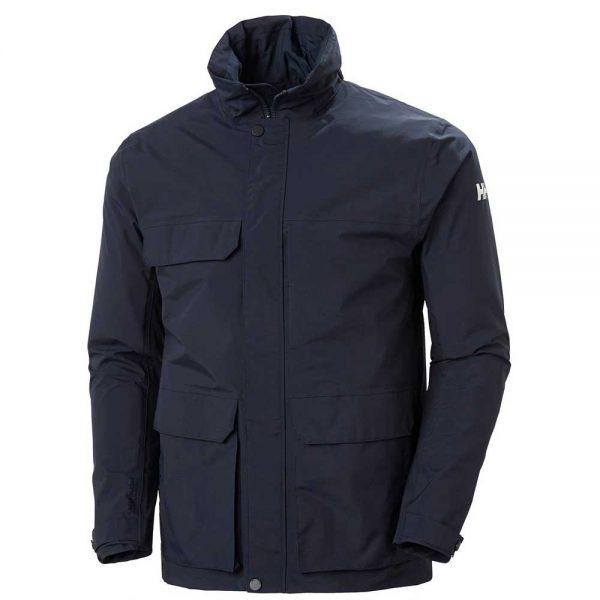 Helly Hansen Mens Utility Rain Jacket Navy