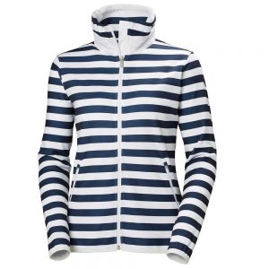 Helly Hansen Women Naiad Fleece Jacket Evening Blue Stripe