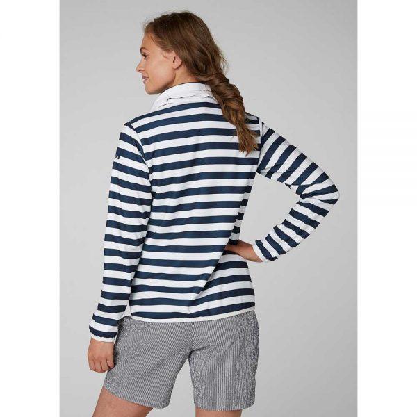 Helly Hansen Women Naiad Fleece Jacket Evening Blue Stripe