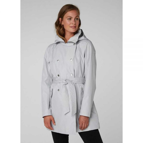 Helly Hansen Women Welsey II Trench Grey Fog