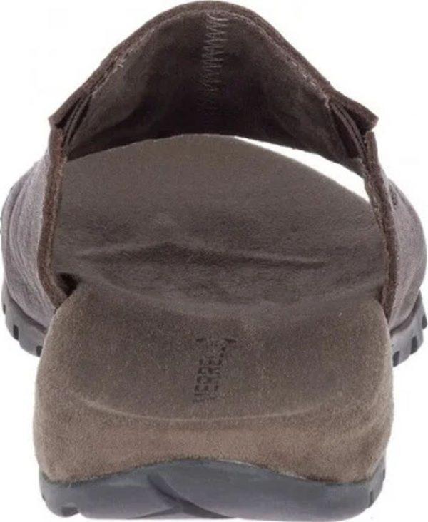 Merrell Sandspur Slide Leather Sandals Men's Brown
