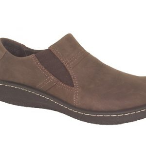 Naot Lava Oily Brown Nuback Men's