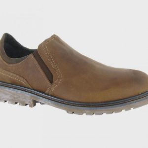 Naot Serengeti Manyara Oily Brown Nuback Men's