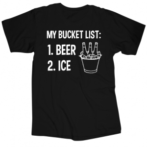 Beer and Ice T shirt