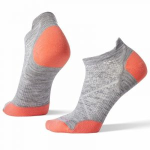 Smartwool PhD Run Ultra Light Micro Socks Light Gray Womens