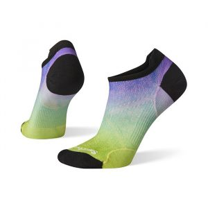 Smartwool PhD Run Ultra Light Ombre Print Micro Athletic Socks Womens