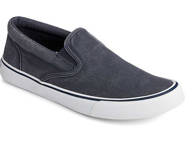 Sperry Mens Striper II Slip On CVO Navy