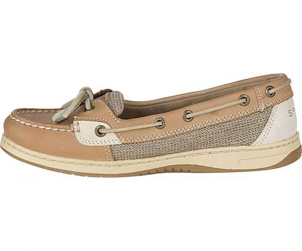 Sperry Womens Angelfish Linen Oat