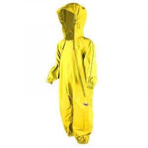 Splashy Nylon One Piece Rain And Mud Suits Kids YellowSplashy Nylon One Piece Rain And Mud Suits Kids Yellow