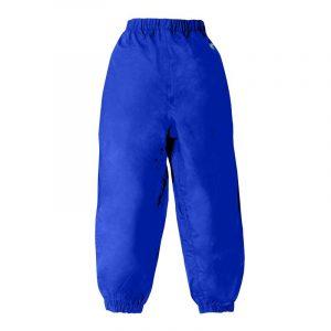 Splashy Nylon Rain Pants Bue