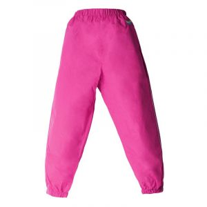 Splashy Nylon Rain Pants Pink