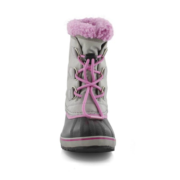 YOOT Chrome grey orchard youth boot