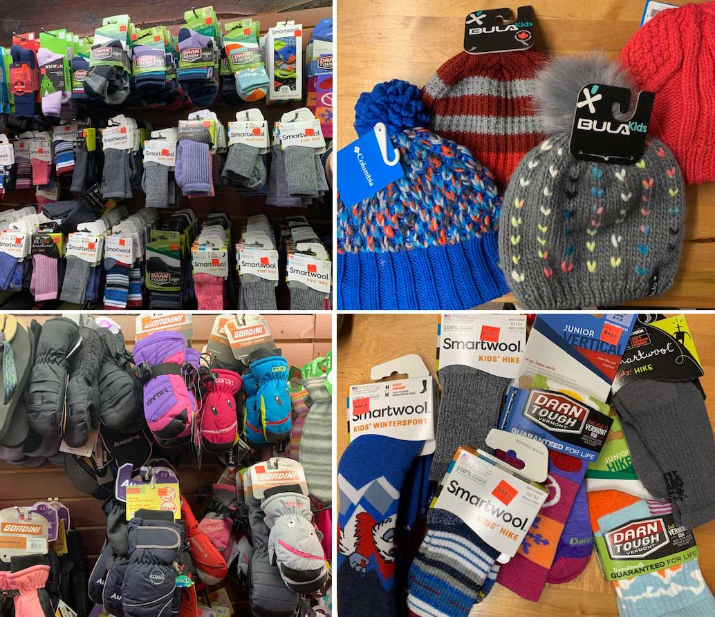 Kids accessories-socks gloves and hats